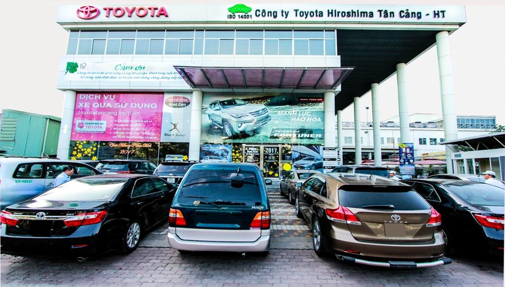 showroom Toyota Hiroshima Tân Cảng Nguyễn Hữu Cảnh